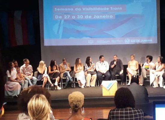 Evento da Semana da Visibilidade Trans na Biblioteca Parque Estadual