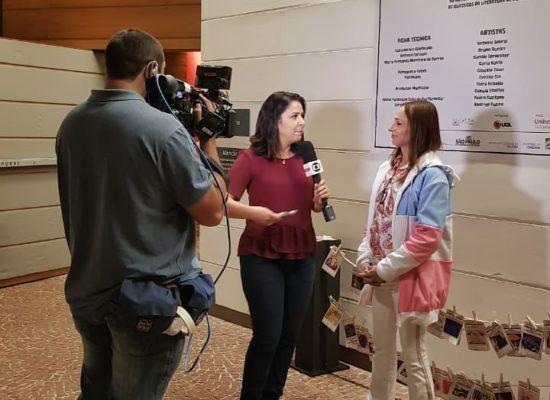 Entrevista para a Globo News sobre o Capacitrans