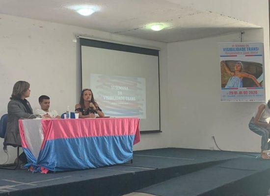 Evento Apresentando soluções sobre empregabilidade formal e informal de pessoas Trans na UFS no Sergipe