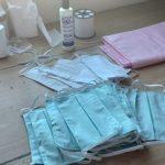 Máscaras de tecido reutilizáveis